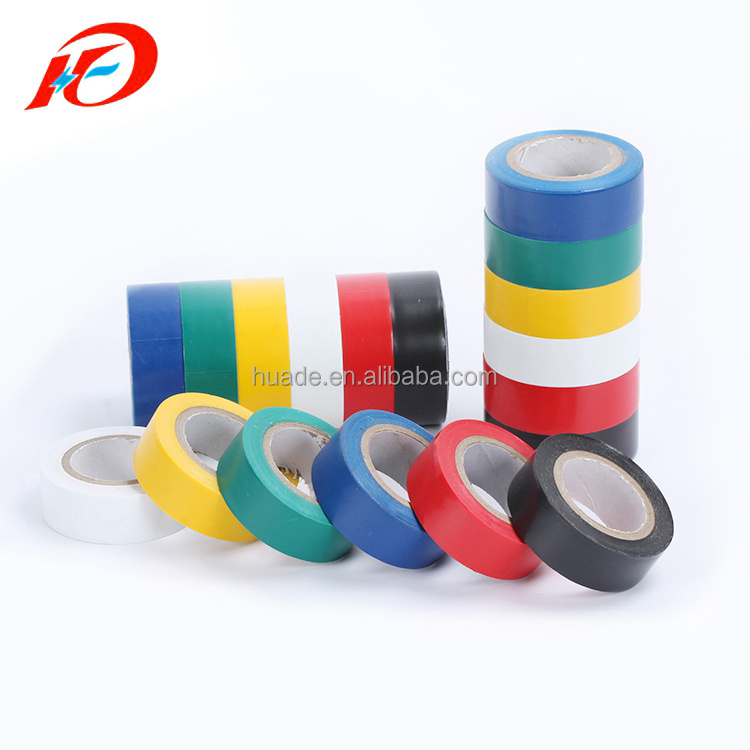 High Quality Rubber Adhesive Shiny PVC Electrical Insulation Tape