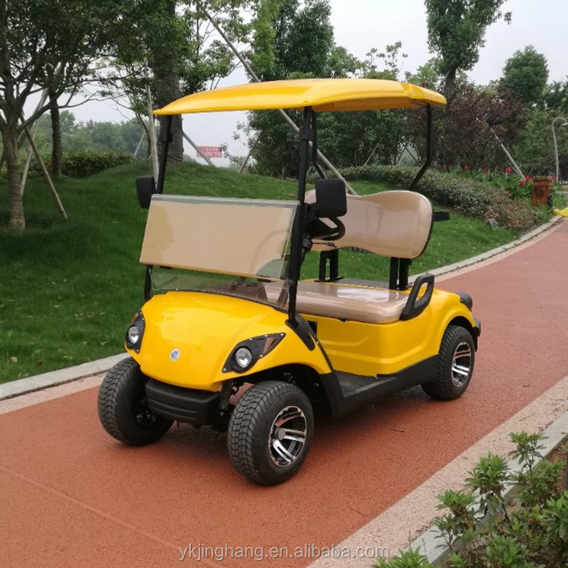 competitive price 2 seaters petrol golf cart with gasoline engine 250cc(17HP)