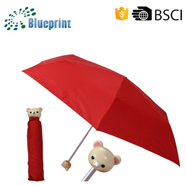 Mini Toy Handle Small Pocket Folding Umbrella For Promotional Gifts