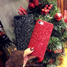 Fashion Sparkle Glitter Phone Case for iphone X 8 7 6 S 6S Plus Powder Sequins Diamond Christmas Cover for ip 5 5S SE 8Plus case