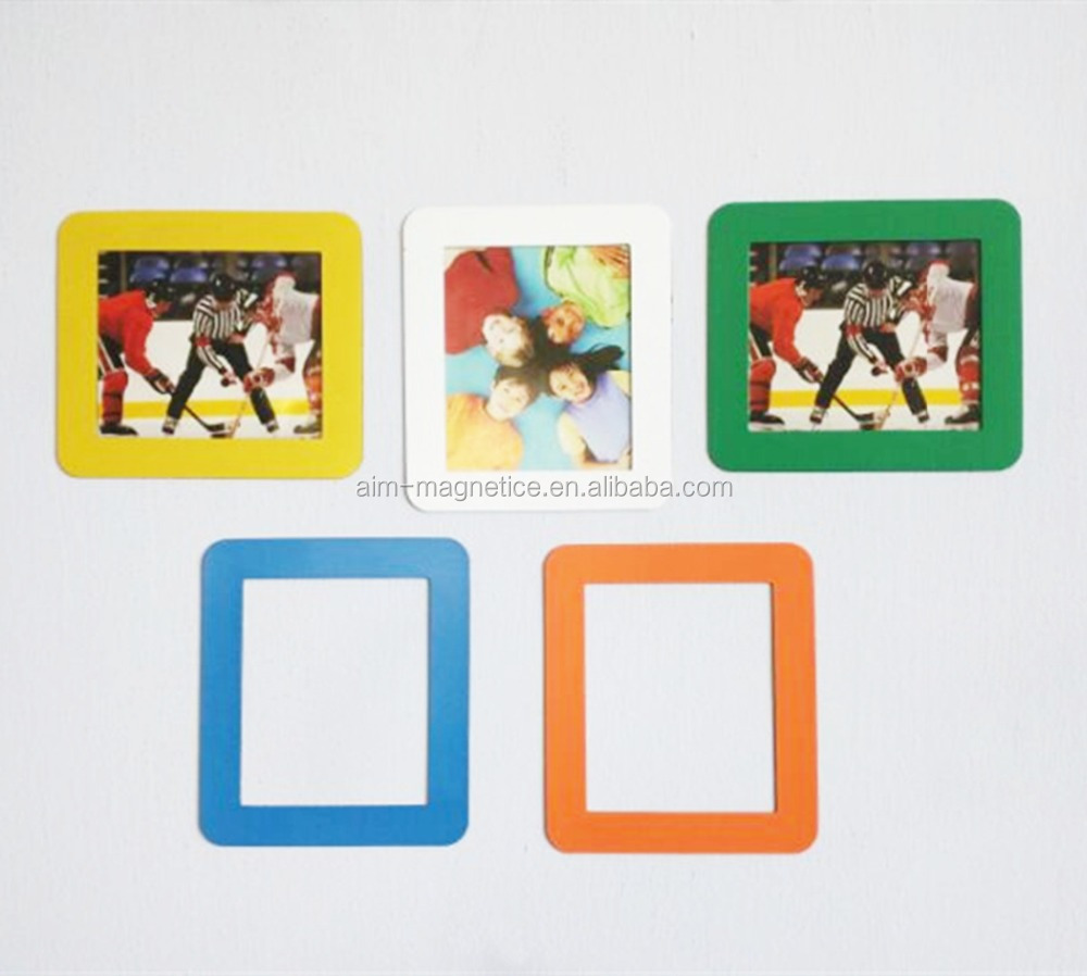 Magnetic Photo Frame With Adhesive Crystal Surface 6 X 4