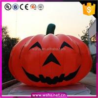 lighted burlap Halloween pumpkin outdoor carving decor