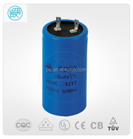 Non Polar Electrolytic Capacitor 300uf 220v Or 500uf 220v CD60 Capacitor