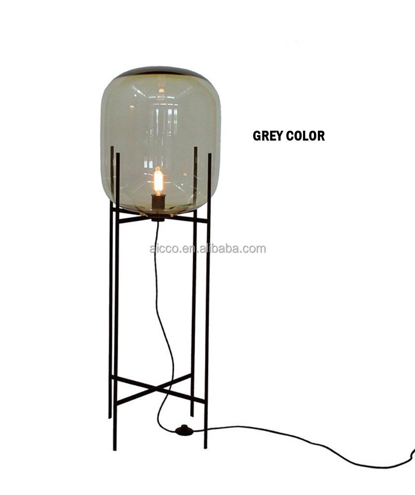 Decoratief glas moderne staande lamp staande lamp staande lamp grote oda