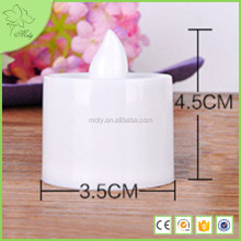 Battery Operate Flameless Led Candle Light/ Paraffin Wax Led Candle/ Led tea light