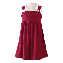 Lanye summer little dress names cotton low price and high quality baby girl dresses
