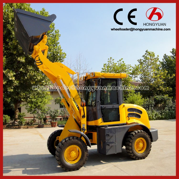 High grade japan ZL12F wheel loader with CE