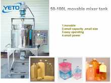 customized Product line popular customizable detergent hair color mixer mixing blender equipment