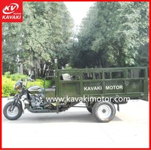 Cargo Tricycle 3 Wheel Motorcycle / Tipper Dumper Truck With Complete Booster Rear Axle