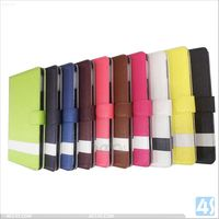 China wholesale Mix color folio stand Tablet covers Cases for iPad air case leather