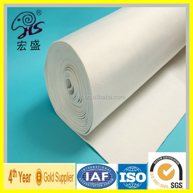 factory price woolen felt/100% wool felt pressed for filtration/Industrial wool felt for oil absorbing