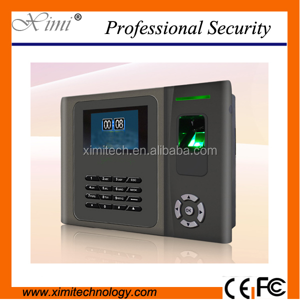 2017 network tcp/ip staff attendance machine biometric fingerprint time recorder attendance system