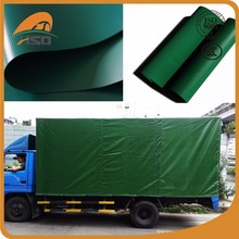 Wholesale side curtains pvc truck tarpaulin fire retardant water proof polyester fabric