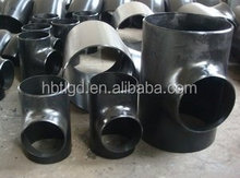 direct manufacturer butt welded ansi b16.9 carbon steel equal tee sch40 pipe fitting tee elbow reducer bend cap flange