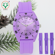 2015 Fashion Silicone Watch Japan Quartz Women Wrist Watches wholesale