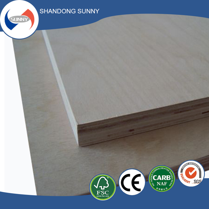Furniture grade 18mm birch plywood