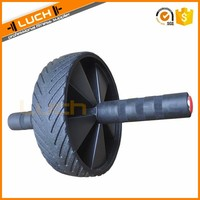 High quality crossfit abdominal exercise roller ab wheel