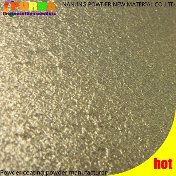 Aluminum Gold Wrinkle Coating Paint Powder