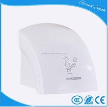ABS Plastic Wall Mounted Electric Automatic Hand Dryer for Washroom