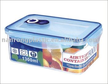 Plastic vacuum food container NR-4142