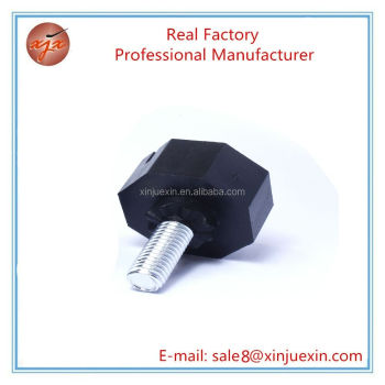 China manufacturer modern furniture feet plastic feet