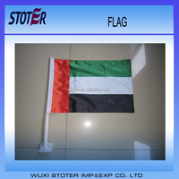 transfer printing world market suppliers OEM flying united arab emirates sleeved flag
