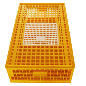 Best selling 96cm plastic chicken transport crate poultry transport coop poultry cage