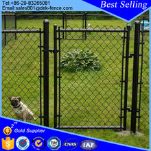 Dog Kennel Paint Black Chain Link Fence Coil