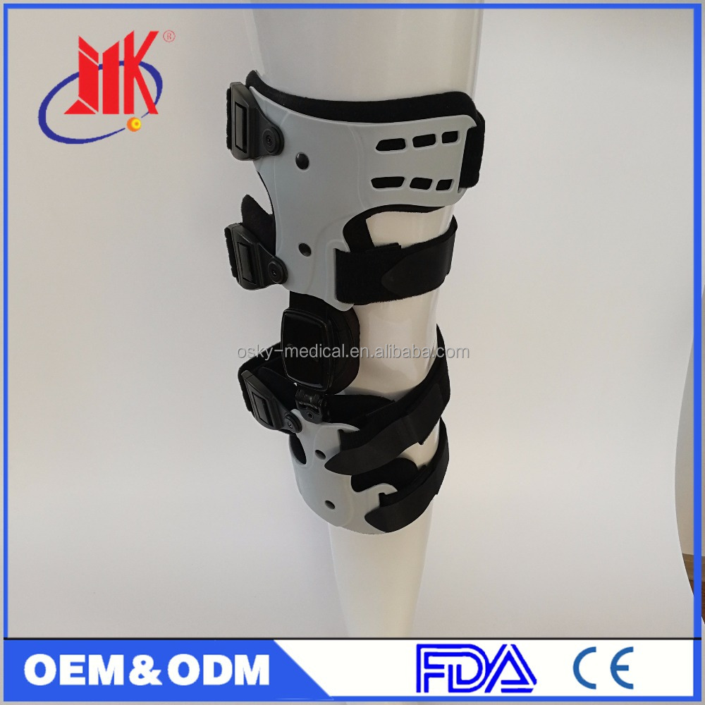 Knee Joint Stabilizer With Cross Belts for Bowleg and Knock Knee