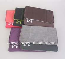 nylon laptop sleeve for ipad carrying case bag