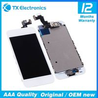 Wholesale touch screen digitizer replacement parts display assembly original lcd for iphone 5s