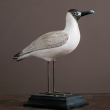 Home decor crafts resin seagulls figurine home or garden ornament