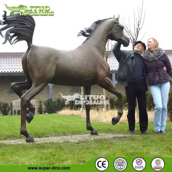 Traveling Exhibition Real Life Size Robotic Animatronic Horse