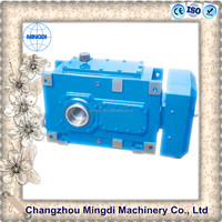 H/B Serial Helical / Bevel Transmission Gear box Parts With Electric Engine motors 12v electric motor gearbox