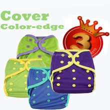 happy flute baby AIO cloth diaper cover reusable one size diaper wholesale
