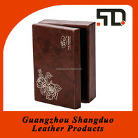 New Promotion Excellent Handcraft Leather Essential Oil Gift Box
