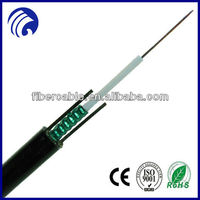 supply Wanbao 4 core fiber optic cable price GYXTW
