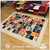 New Design Floor Carpet Tufted Printed Canvas Rugs for Children Room