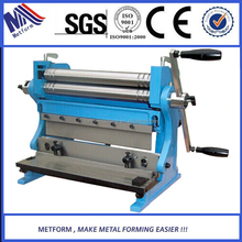 Manual electrical shear brake roll 3-in-1 machine,combination shear from factory