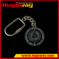 Spinning Key Chain Top sale cheapest Metal Crafts couple key chain love you