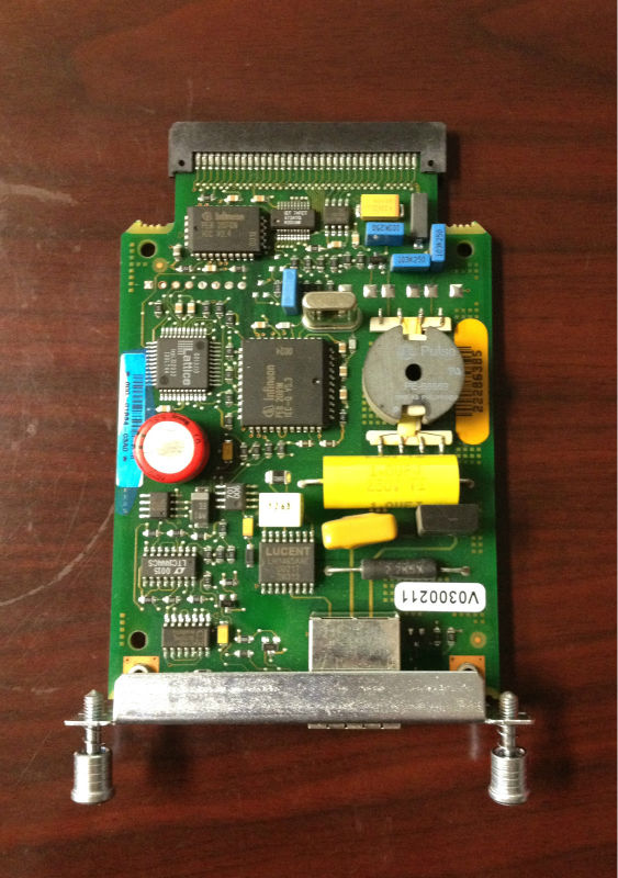 used original WIC-1B-U-V2 Cisco Module Interface Card