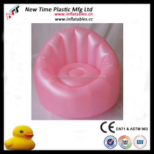 High quality inflatable pvc pearl sofa
