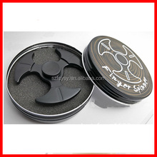 Hand Spinner Fidget High Speed Stainless Steel Bearing ADHD Focus Anxiety Relief Toys Three Leaf Axes Fingertip gyro