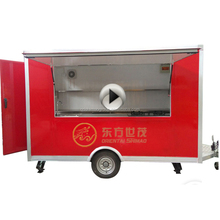 High quality many functions bike food cart for sale With CE