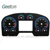 2D Screen Printing Custom Truck Dasboards Speedometer And Tachometer