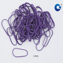 Wholesale transparent elastic hair band/natural rubber band for decoration