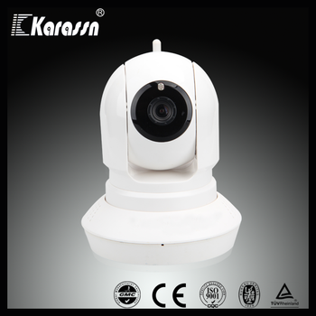 Night vision H.264 720P HD Pan/Tilt IP wifi wireless cctv camera with voice recorder