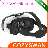 3D Head Mount VR Glasses for 4.5inch to 6inch Smart Phone