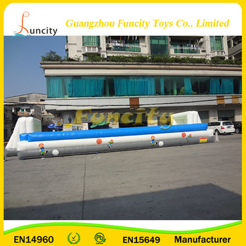 excellent design customized big water Inflatable soccer field for sale