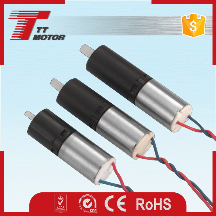 Small powerful electric motors 6mm gear motor for toy